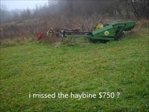 Small Farm Equipment Auction Results 12 1 18