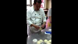 2013.9.18 Bakery Class Sausage Roll, Tunafish Bun, Raisin Loaf