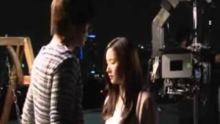 City Hunter (kissing scene) BTS