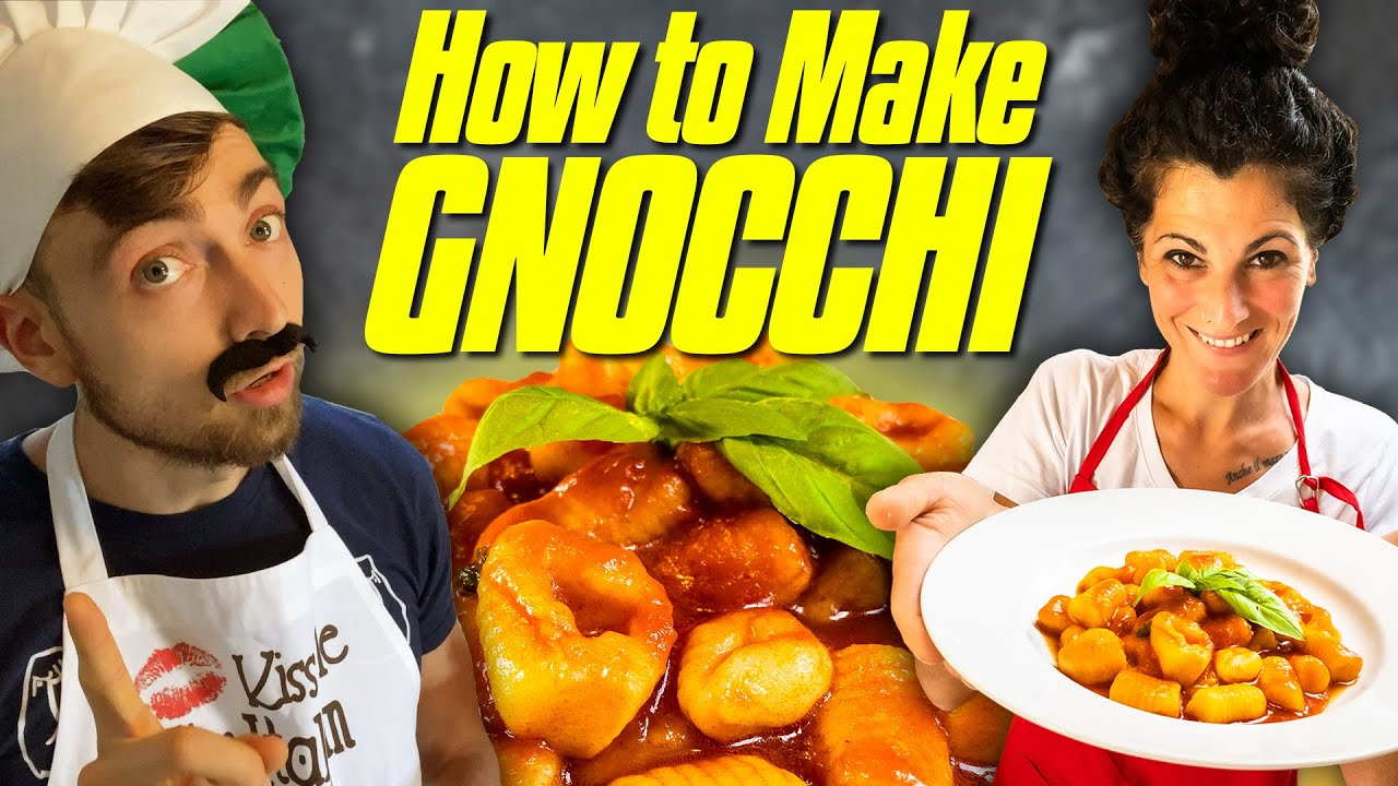 How to Make Gnocchi | Authentic Italian Gnocchi Recipe