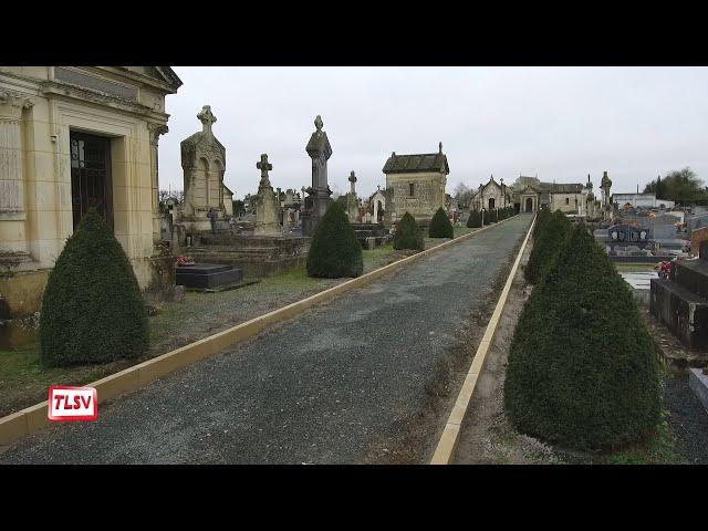 Luçon : les travaux d'accessibilité ont commencé au cimetière