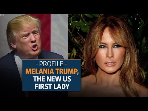 Melania Trump: The new US First Lady