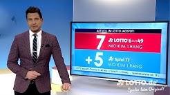 Ziehung der Lottozahlen vom 25.01.2020