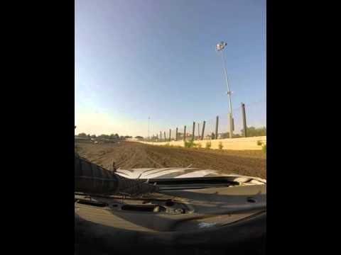 GoPro Turner Racing (17z) - Warren County Speedway 8/15/2015 (Heat)