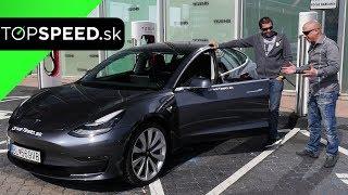 PRVÁ Tesla Model 3 v SR! - Maroš ČABÁK TOPSPEED.sk