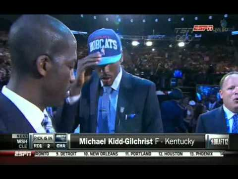 NBA Draft 2012 Full Part 1 (pick 1-15)