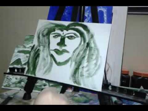 My Sister Portraits Painting Lady Art Modern