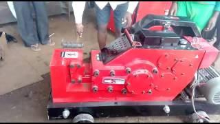 BAR CUTTING MACHINE GQ-50 UNITECH EQUIPMENTS HYDERABAD 9704854934,9908281864