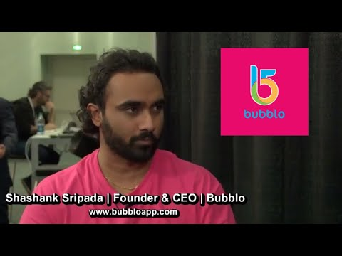 Bubblo | Founder & CEO Shashank Sripada | AI-Powered Discovery Platform | Crypto Invest Summit