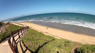 South African beaches: Kleinbrak River, Hartenbos, Mossel Bay (The Western Cape)
