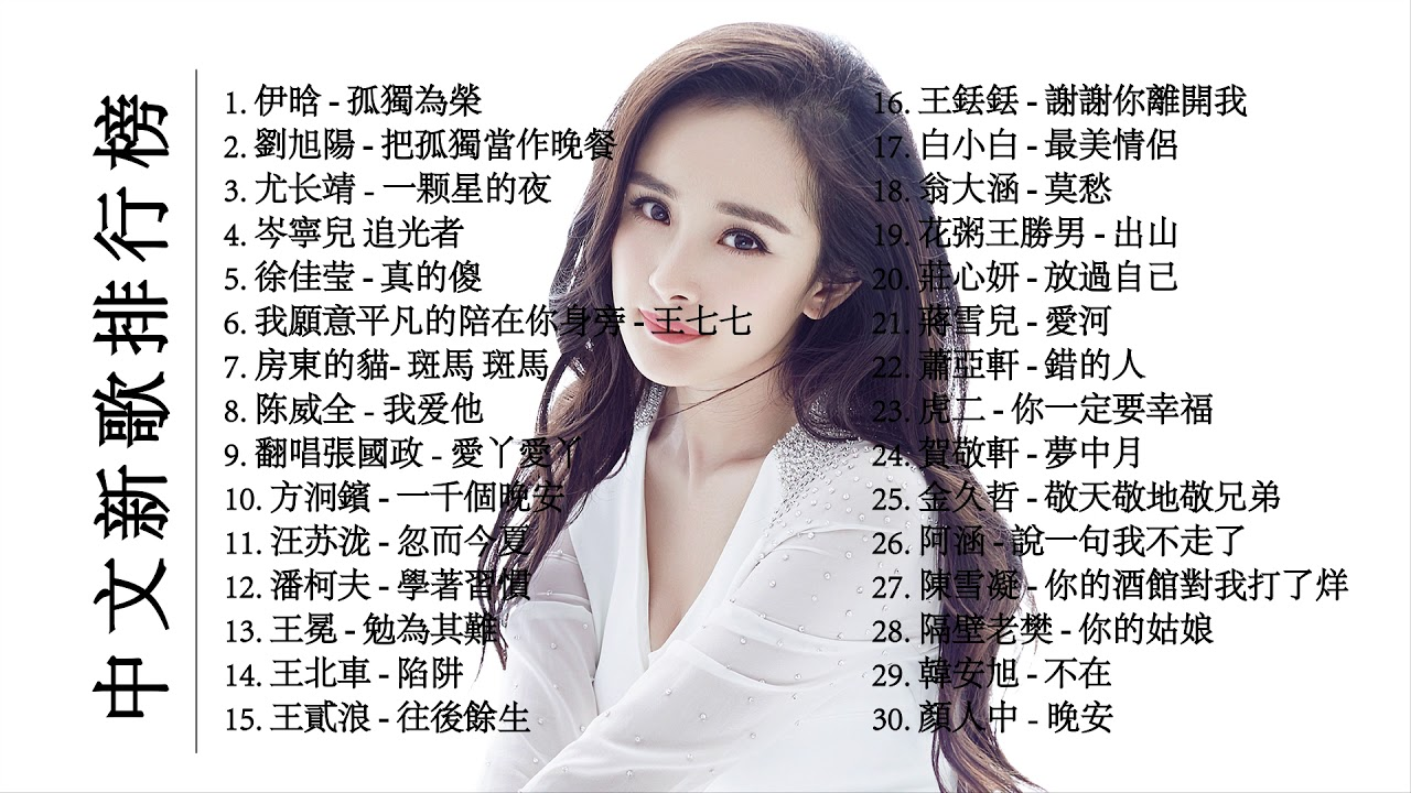 中文流行歌曲 2019 中文新歌排行榜 超好聽的新中文歌曲2019 TikTok Hot Chinese Song 2019 - YouTube