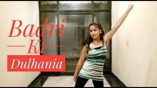 Badri Ki Dulhania Dance | Title Track | Dance Choreography | Charming Cherry