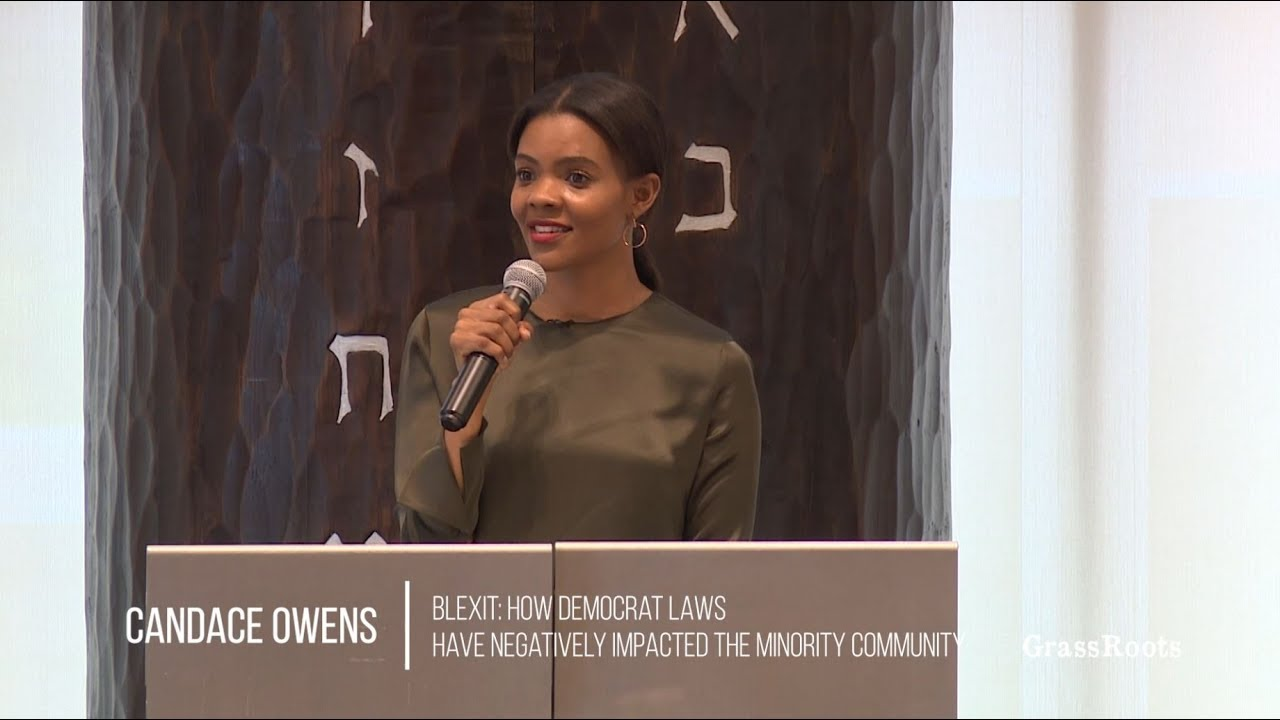 Candace Owens' BLEXIT Group Paid Black People To Attend ...