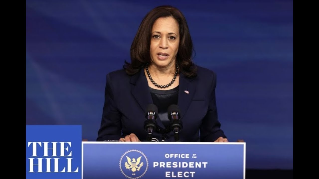As Kamala Harris Resigns From Senate Seat, Here's When ...