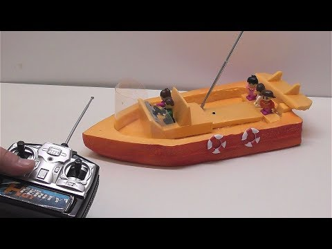 How to make an Electric Boat on the radio management