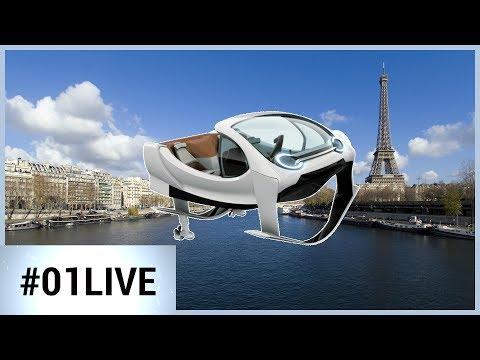 01LIVE VivaTech #3 : SeaBubbles, des bateaux-taxis volants bientôt sur la Seine
