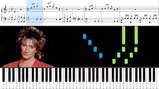 How to play baby jane by rod stewart on piano. sheet music is included in this piano tutorial. playlists other songs: https://bit.ly/2lkpxuf • slow dow...