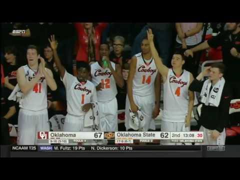 Oklahoma at Oklahoma State | 2016-17 Big 12 Men's Basketball Highlights