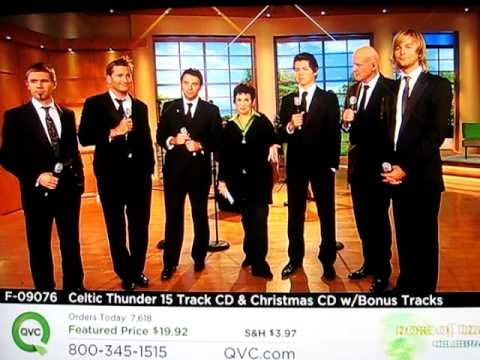 Celtic Thunder Performs on QVC Rose of Tralee - Final spot Sept 8, 2010
