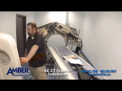 GE CT Scanner Installation in 90 Seconds