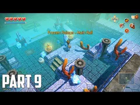 Oceanhorn: Monster of Uncharted Seas - 100% Walkthrough Part 9 [PS4] –  Frozen Palace