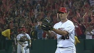 2002 WS Gm2: Percival gets final out, Angels win