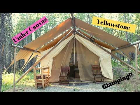 Yellowstone Glamping Review-Trout Fishing