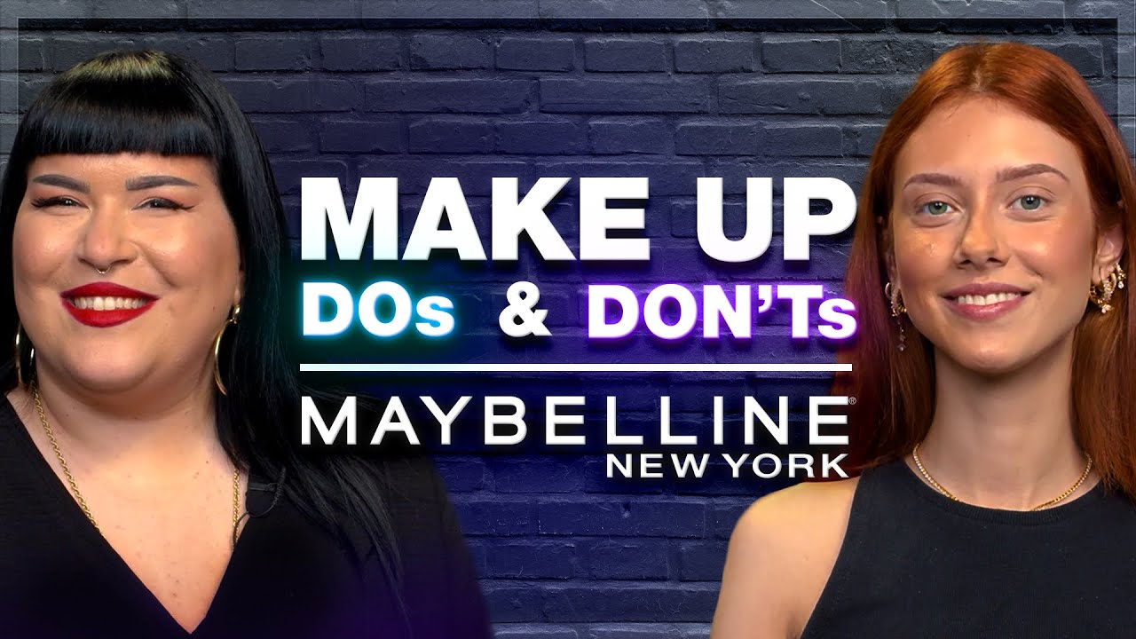 DOs & DON'Ts FOR A FLAWLESS BASE ft. Chrisa Ganidou & Μάγδα Αναστασοπούλου | Maybelline NY Greece