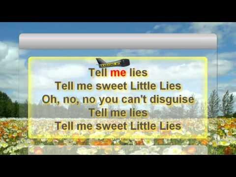 """Karaoke: """"Little lies"""" by Fleetwood Mac"""