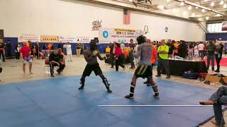 Scott Williams vs Piankhi Zimmerman - 2018 WFMAF US Open Martial Arts Championship
