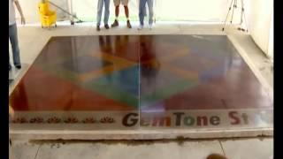 Полированный бетон Основные этапы устройства полированного бетона