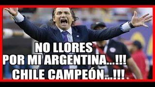 Copa America Centenario 2016: MEMES FINAL ARGENTINA VS CHILE 2016