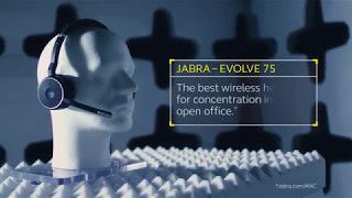 Jabra Evolve 75 - A headset optimized to boost focus and productivity