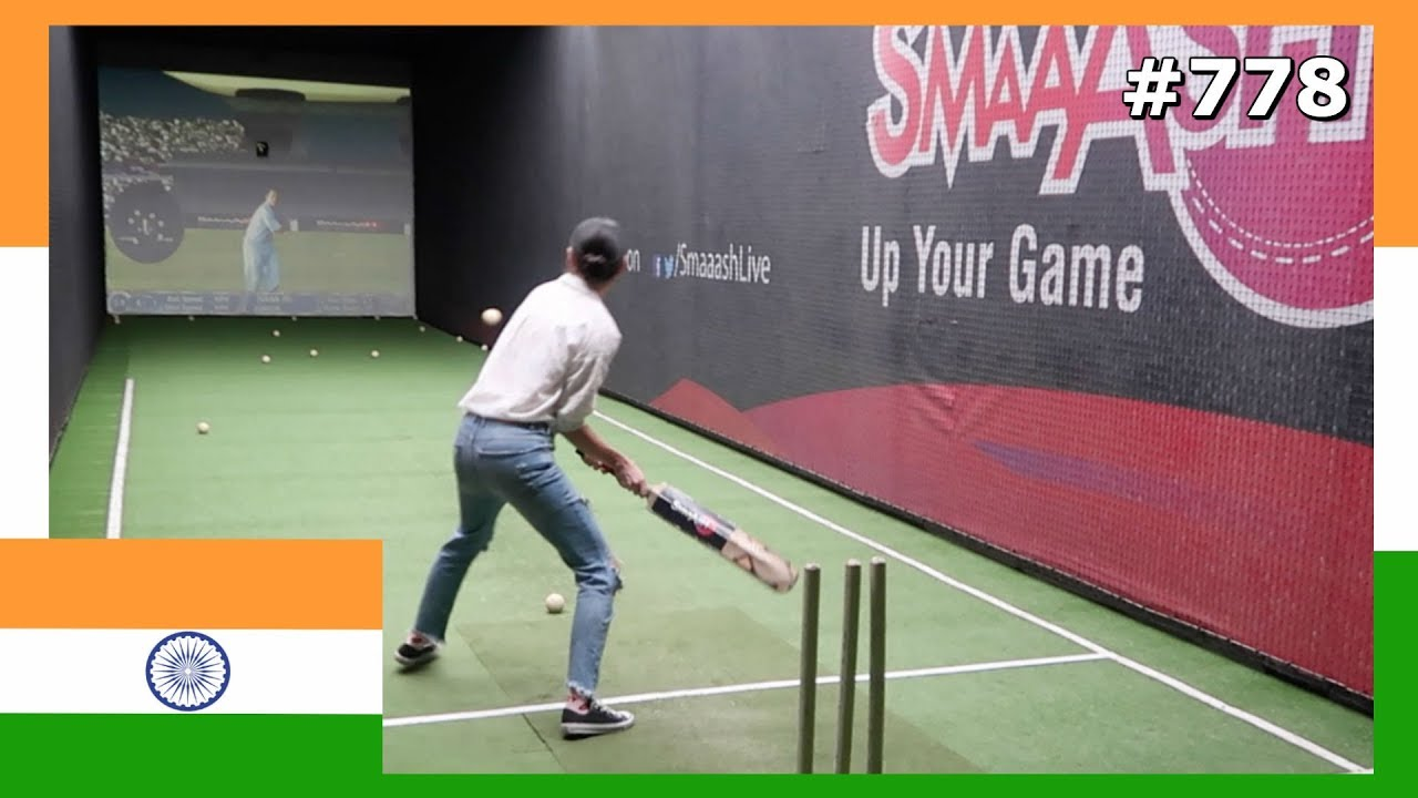 FOREIGNER PLAYING CRICKET INDIA DAY 778   TRAVEL VLOG IV