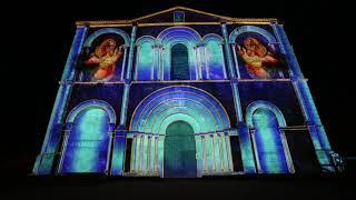Illumination de l'abbaye de Saint Amant de Boixe