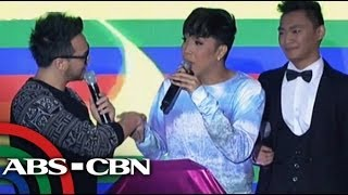 Billy Crawford grilled on Coleen on