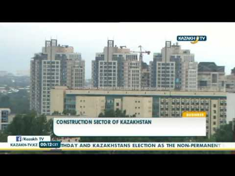 Construction sector of Kazakhstan