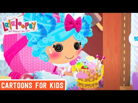 Lalaloopsy - Celebrating All Things Snuggly | Lalaloopsy Webisode Compilation | Cartoons for Kids