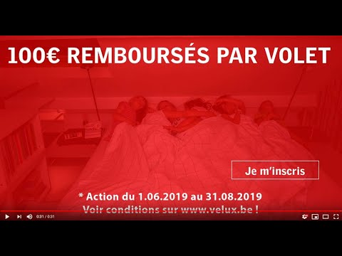 Campagne Volet Roulant Velux 2019