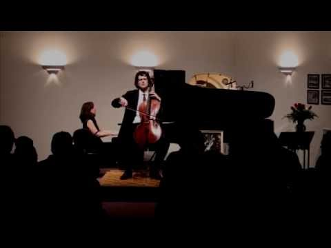 Amit Peled accompanied by Noreen Cassidy - Polera perform Sicilienne, Op. 78 by G Faure'