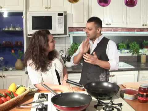 Cooking with Fatima Show with Reza Peyk