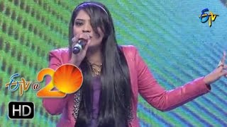 Ranina Reddy, Performance - Allegra allegra Song in Sangareddi ETV @ 20 Celebrations