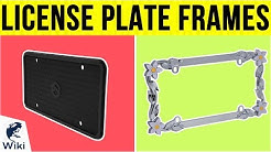 10 Best License Plate Frames 2019