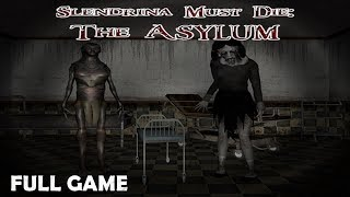 Slendrina Must Die: The Asylum Full Game & ENDING  Walkthrough Gameplay (Horror Game)