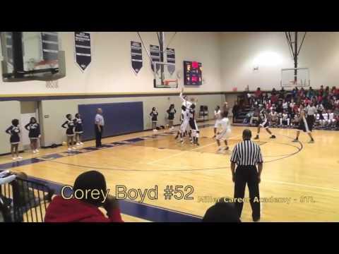 Corey Boyd #52 - Miller Career Academy Phoenix Basketball - STL