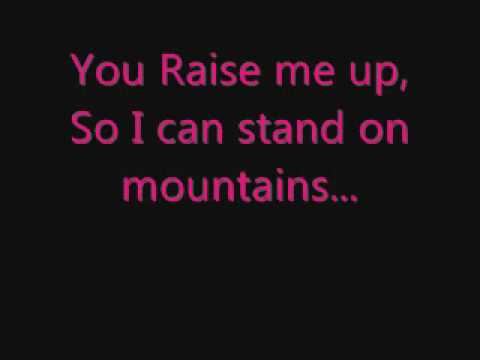 You Raise Me Up - Westlife (Lyrics)