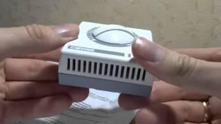 Обзор термостата CEWAL RQ01 для контроля температуры воздуха в системах отопления и охлаждения