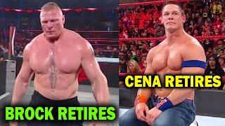 10 WWE Wrestlers Who Secretly Retired in 2020 - Brock Lesnar & John Cena Retire