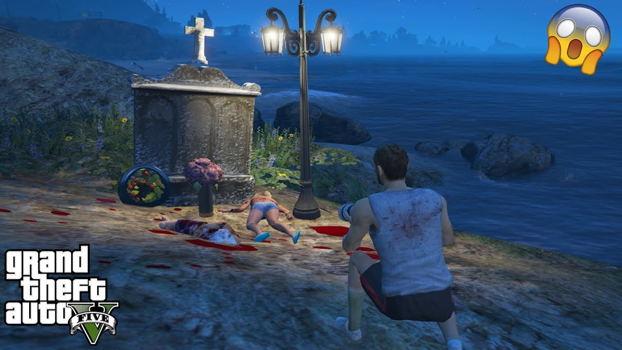 GTA 5 - I Found a VERY SCARY EASTER EGG (scary secret)