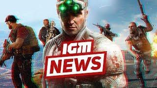 IGM News: пиво вместо Е3 и возвращение Splinter Cell